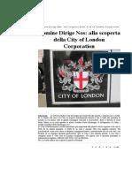 Domine Dirige Nos- Alla Scoperta Della City of London Corporation