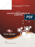 Analise Fisico Quimica de Alimentos 01
