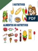 Alimentos Nutritivos y No