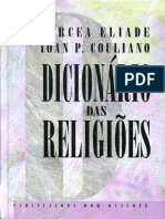 Mircea Eliade & Ioan P. Couliano - Dicionário Das Religiões (Publicações Dom Quixote, 1993)