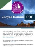 Ley Dominical v17