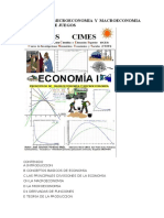 Economia i Microeconomia y Macroeconomia Con Teoria de Juegos