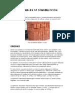 Materiales de Construcción