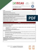 Prácticas y Listas de Cotejo de Procesos de Fabricación