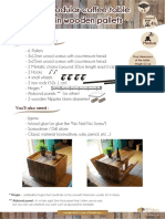 DIY Tutorial Modular Pallet Coffee Table Benoit Brousseau