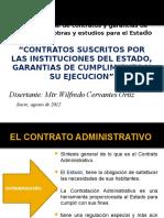Curso de Contratos Administrativos Escuela de Abogados