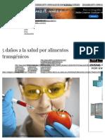 5 Daños a La Salud Por Alimentos Transgénicos _ Salud180
