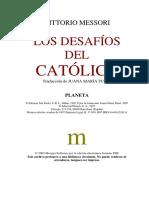 Vittorio Messori - Los Desafíos Del Católico