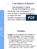 1 Nature of Science