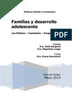 Familias y Desarrollo Adolescente Monografc3ada