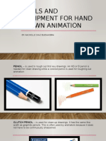 Tools and Equipment for Hand Drawn Animation