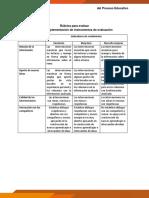 3. Rúbrica Para Evaluar Foro_aplicación de Instrumentos en El Aula.docx