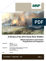 2016 Horse River Wildfire Review
