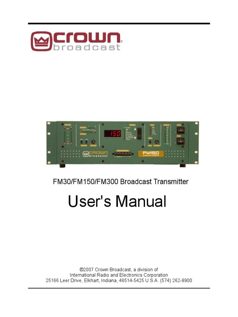 Lpfm Man30 150 300 Amplifier Transmitter Mc145170 Pll Fm