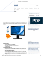 Como Limpar Corretamente Telas de LCD