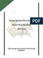 msband handbook 2017