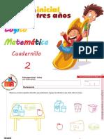 Cuadernillo 2 Lógico Matemática
