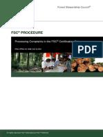 FSC PRO 01 008 V2 0 en Processing Complaints