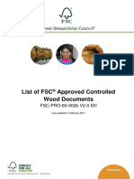 FSC-PRO-60-002b V2-0 en List of FSC Approved Controlled Wood Documents 2017-02-03