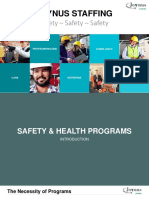 Safety & Health Programs - Joynus Staffing Presentation