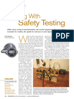 Living With Safety Testing