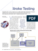 Partial Stroke Testing