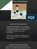 Acetona o Propanona