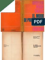 Godelier, Marx, Engels - El Modo de Producción Asiático, Eudecor, 1966