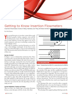 Getting to Know Insertion Flowmeters