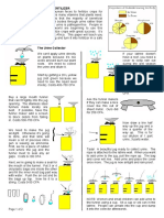 Urine Fertilizer Sheet in English