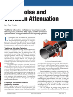 Pump Noise and Vibration Attenuation