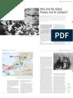 15 BAR 165 Historical Why the Allied Powers Failed at Gallipoli