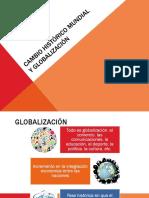 Cambio Histórico Mundial y Globalización