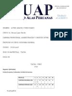 Trabajo Academico Economia General