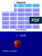 Jeopardy Winter Cycle End