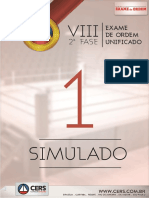 1 Simulado Oab 2fase Viii Exame Dir Trabalho Novo