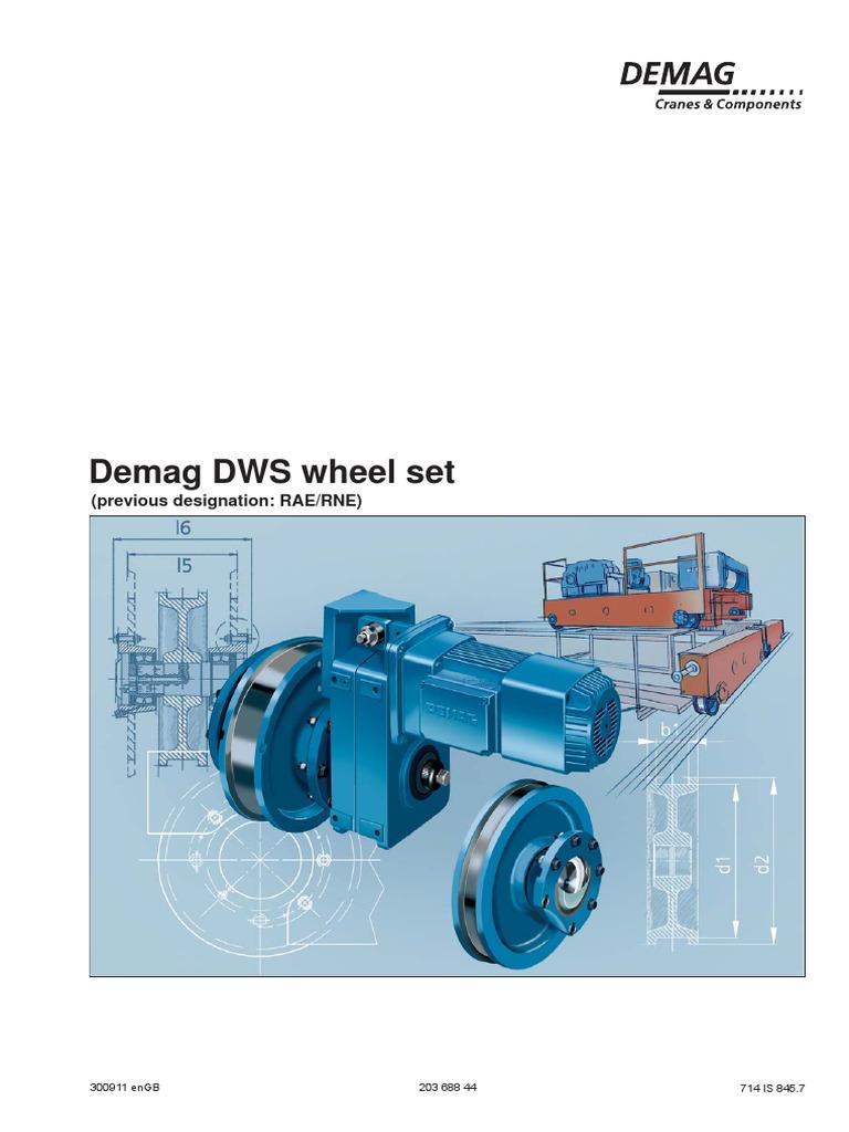 DWS Wheel | Transmission (Mechanics) | Bearing (Mechanical)