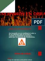 Diapositivas Incendios en Obras