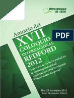AnuarioColoquioREDFORD2012 Mexico