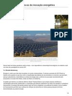 Outraspalavras.net-Como o Brasil Afasta-se Da Inovação Energética