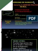 TEMA N° 3  NORMATIVIDAD DE LA ACTIVIDAD MINERA II.pptx