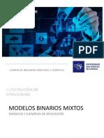 Programación entera - modelos binarios mixtos