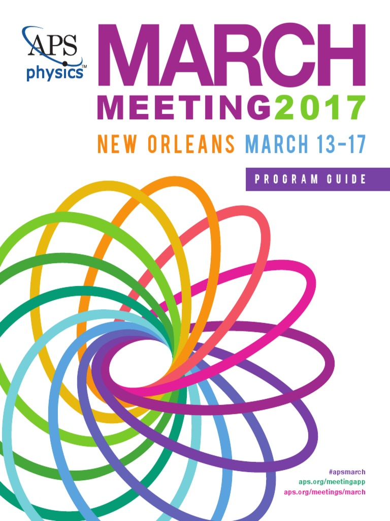 Aps march meeting 2017 harassment superconductivity fandeluxe Image collections