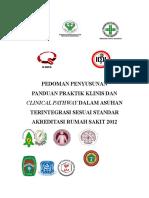 Pedoman Penyusunan Ppk & Cp Dlm Asuhan Terintegrasi Sesuai Standr Akred Rs 2012
