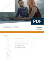 Cambios en HTML5