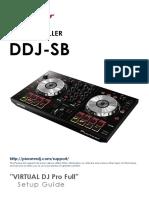 DDJ-SB Setup Guide for VitualDJ Pro