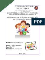 Infantil Manual