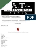 At Professional Paris Keratin Protein
