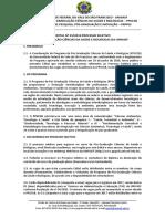 Edital 25-2016 Seleção Discente Turma 2017 - Ppgcsb