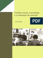 Brazao 2008 Pratica Social Tecnologia e a Construcao Do Curriculo